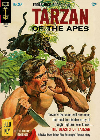 Cover for Edgar Rice Burroughs' Tarzan of the Apes (Western, 1962 series) #157