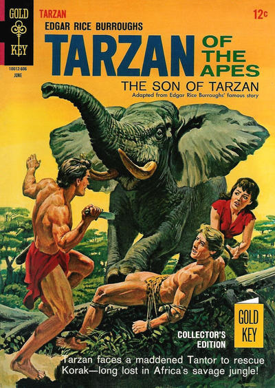 Cover for Edgar Rice Burroughs' Tarzan of the Apes (Western, 1962 series) #158