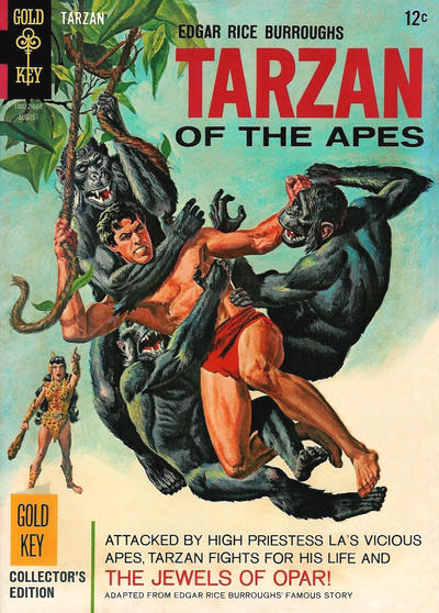 Cover for Edgar Rice Burroughs' Tarzan of the Apes (Western, 1962 series) #159