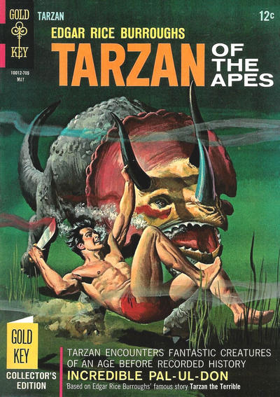 Cover for Edgar Rice Burroughs' Tarzan of the Apes (Western, 1962 series) #167