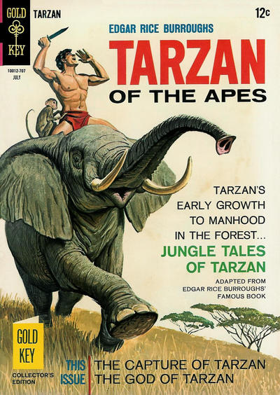 Cover for Edgar Rice Burroughs' Tarzan of the Apes (Western, 1962 series) #169
