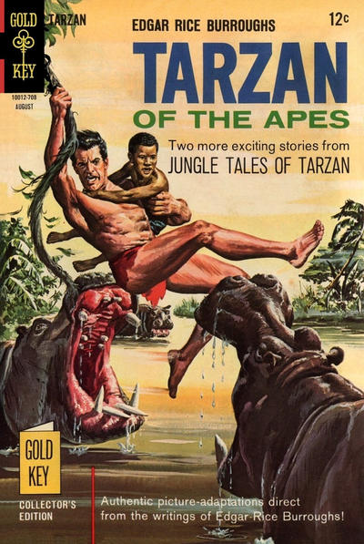 Cover for Edgar Rice Burroughs' Tarzan of the Apes (Western, 1962 series) #170