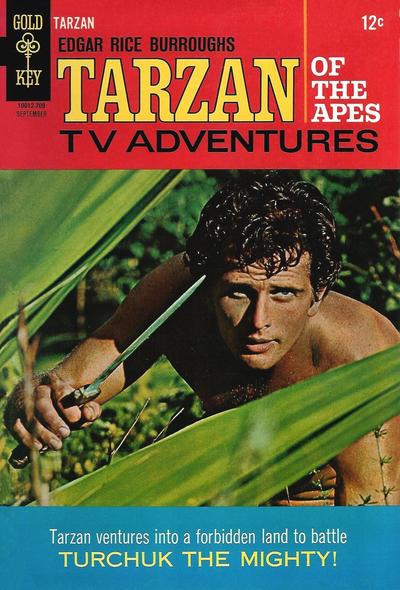 Cover for Edgar Rice Burroughs' Tarzan of the Apes (Western, 1962 series) #171
