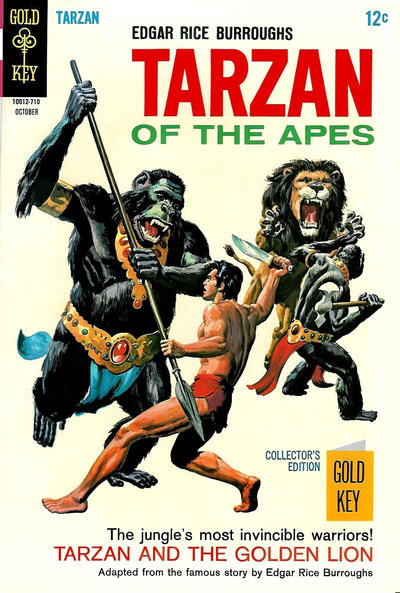 Cover for Edgar Rice Burroughs' Tarzan of the Apes (Western, 1962 series) #172