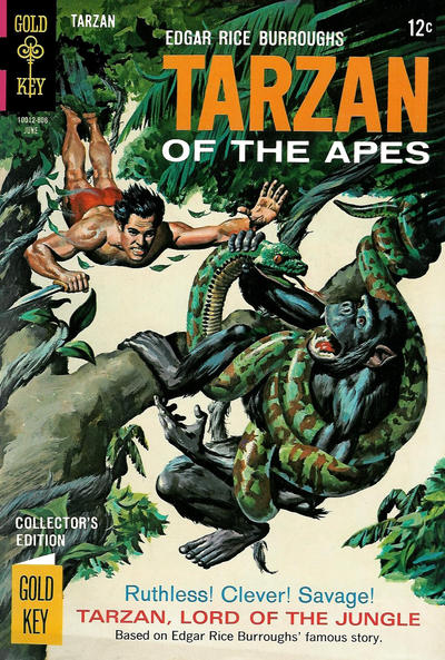 Cover for Edgar Rice Burroughs' Tarzan of the Apes (Western, 1962 series) #176