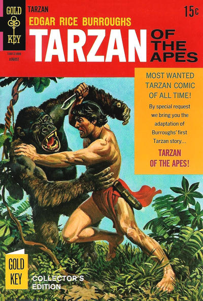 Cover for Edgar Rice Burroughs' Tarzan of the Apes (Western, 1962 series) #178