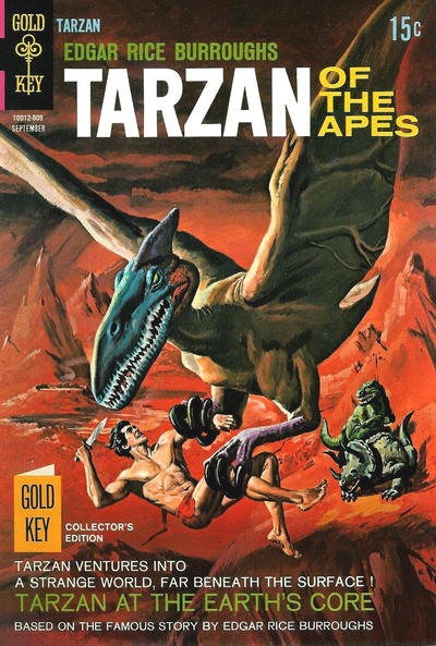 Cover for Edgar Rice Burroughs' Tarzan of the Apes (Western, 1962 series) #179