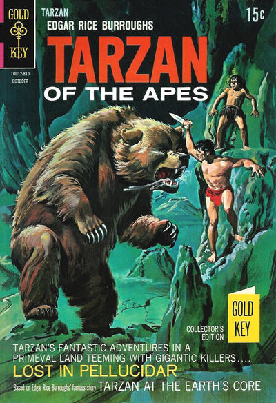 Cover for Edgar Rice Burroughs' Tarzan of the Apes (Western, 1962 series) #180