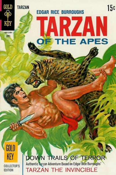 Cover for Edgar Rice Burroughs' Tarzan of the Apes (Western, 1962 series) #183
