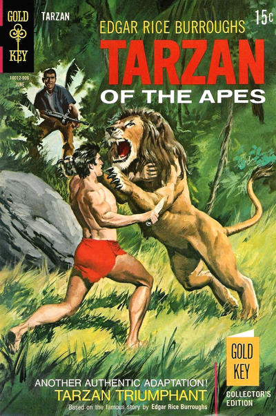 Cover for Edgar Rice Burroughs' Tarzan of the Apes (Western, 1962 series) #184