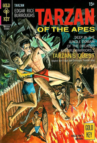 Cover for Edgar Rice Burroughs' Tarzan of the Apes (Western, 1962 series) #188