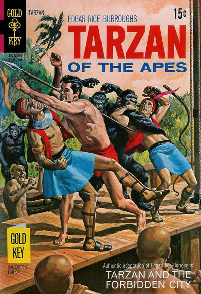 Cover for Edgar Rice Burroughs' Tarzan of the Apes (Western, 1962 series) #190