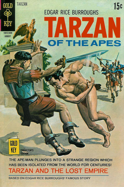 Cover for Edgar Rice Burroughs' Tarzan of the Apes (Western, 1962 series) #194