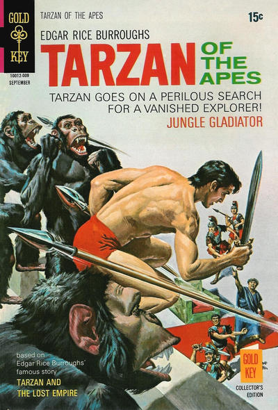 Cover for Edgar Rice Burroughs' Tarzan of the Apes (Western, 1962 series) #195