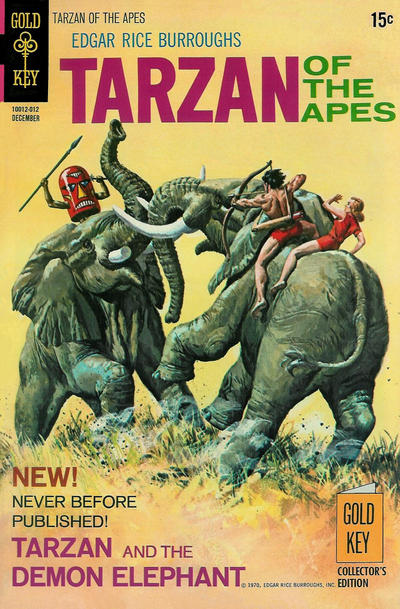 Cover for Edgar Rice Burroughs' Tarzan of the Apes (Western, 1962 series) #197