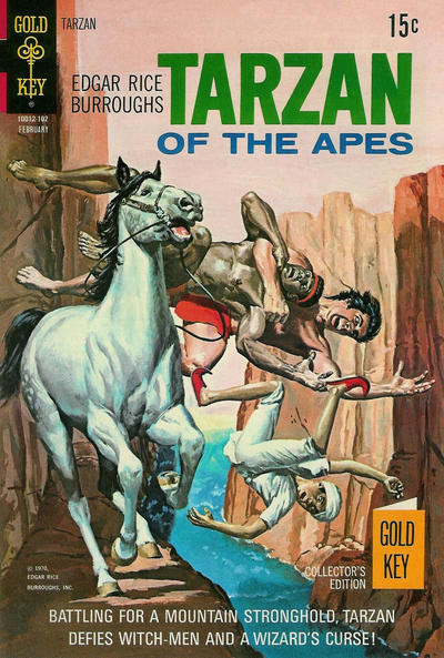 Cover for Edgar Rice Burroughs' Tarzan of the Apes (Western, 1962 series) #198