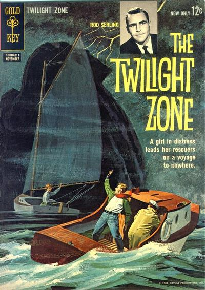 Cover for The Twilight Zone (Western, 1962 series) #1
