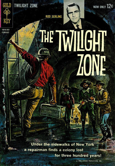 Cover for The Twilight Zone (Western, 1962 series) #2