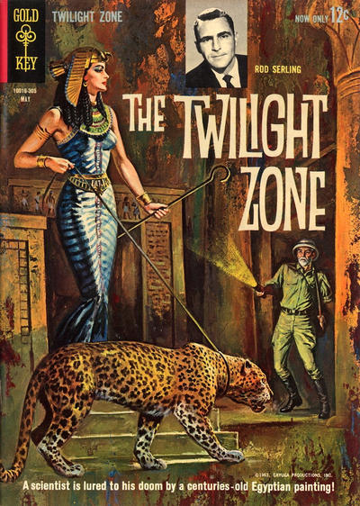 Cover for The Twilight Zone (Western, 1962 series) #3