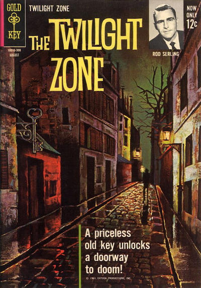 Cover for The Twilight Zone (Western, 1962 series) #4