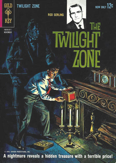 Cover for The Twilight Zone (Western, 1962 series) #5