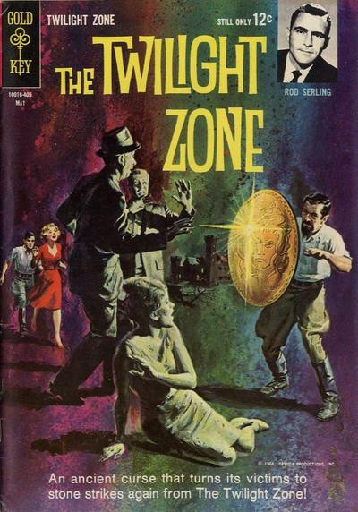 Cover for The Twilight Zone (Western, 1962 series) #7