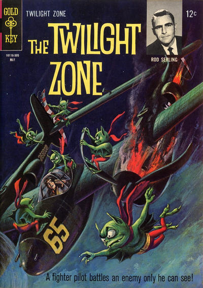 Cover for The Twilight Zone (Western, 1962 series) #11