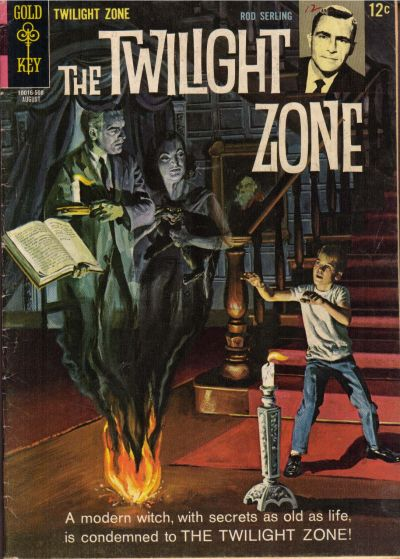 Cover for The Twilight Zone (Western, 1962 series) #12