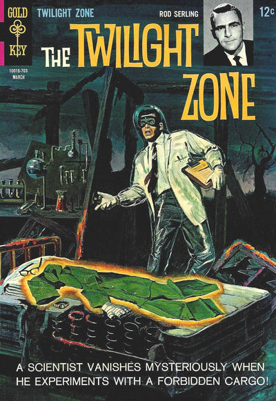Cover for The Twilight Zone (Western, 1962 series) #20