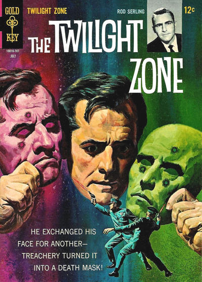 Cover for The Twilight Zone (Western, 1962 series) #22