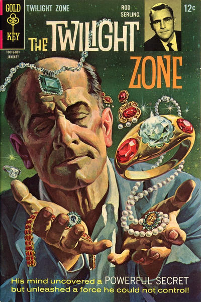 Cover for The Twilight Zone (Western, 1962 series) #24