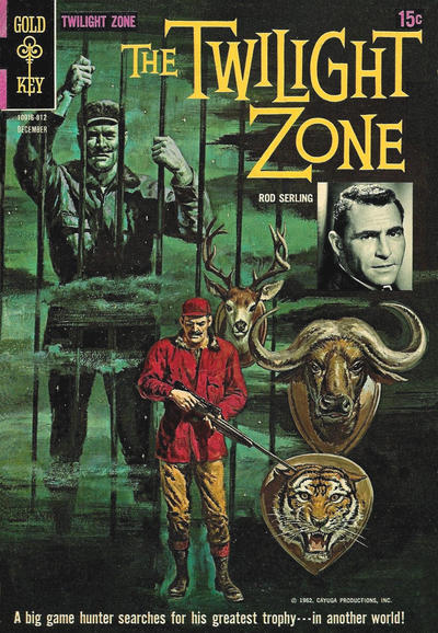 Cover for The Twilight Zone (Western, 1962 series) #27