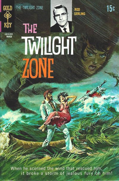 Cover for The Twilight Zone (Western, 1962 series) #32