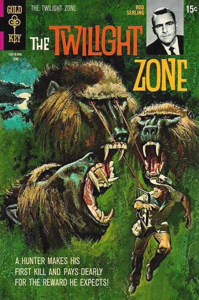 Cover for The Twilight Zone (Western, 1962 series) #33
