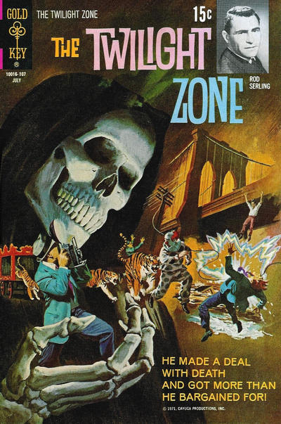 Cover for The Twilight Zone (Western, 1962 series) #38