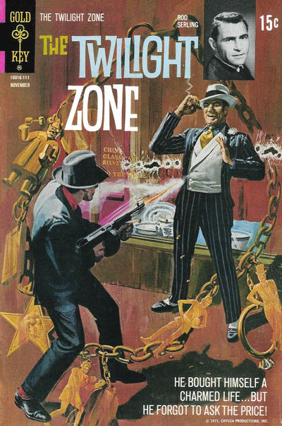 Cover for The Twilight Zone (Western, 1962 series) #40