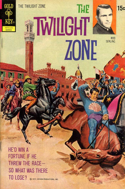 Cover for The Twilight Zone (Western, 1962 series) #42