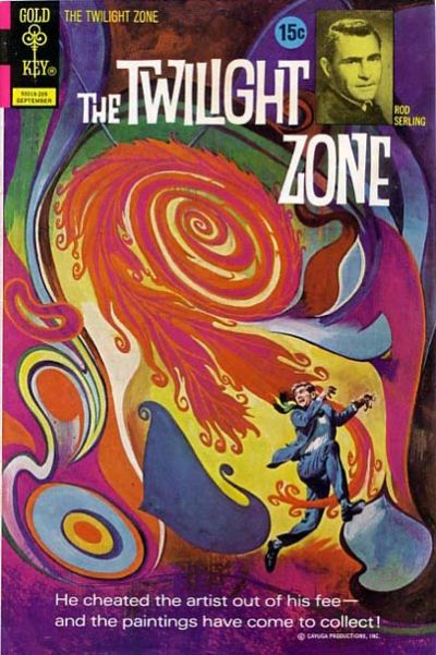 Cover for The Twilight Zone (Western, 1962 series) #45