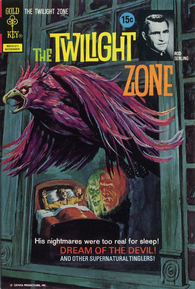 Cover for The Twilight Zone (Western, 1962 series) #46 [20¢]