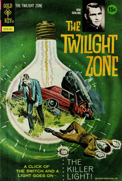 Cover for The Twilight Zone (Western, 1962 series) #48
