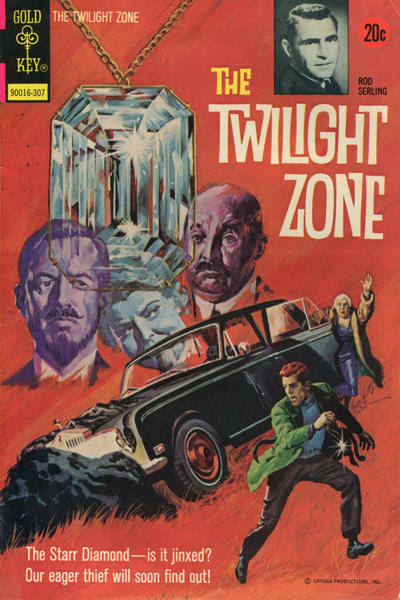 Cover for The Twilight Zone (Western, 1962 series) #50