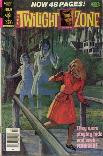 Cover for The Twilight Zone (Western, 1962 series) #83