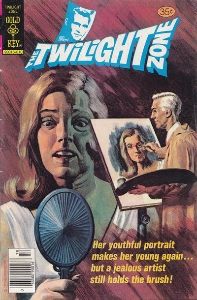 Cover for The Twilight Zone (Western, 1962 series) #87 [Whitman]