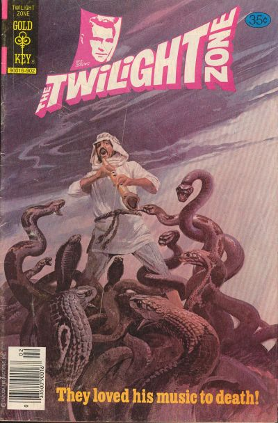 Cover for The Twilight Zone (Western, 1962 series) #89
