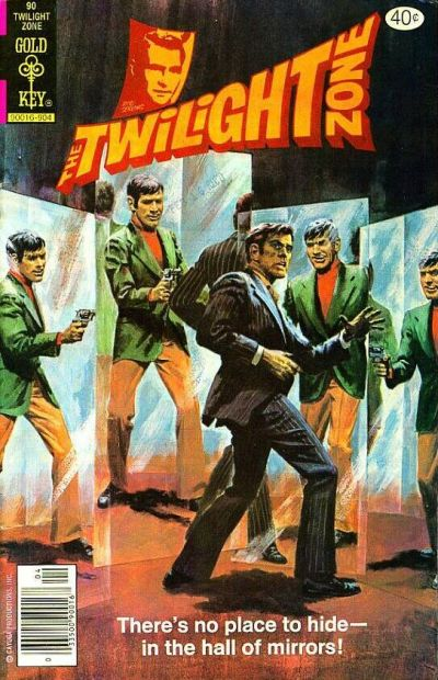 Cover for The Twilight Zone (Western, 1962 series) #90