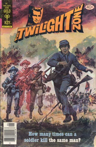 Cover for The Twilight Zone (Western, 1962 series) #91