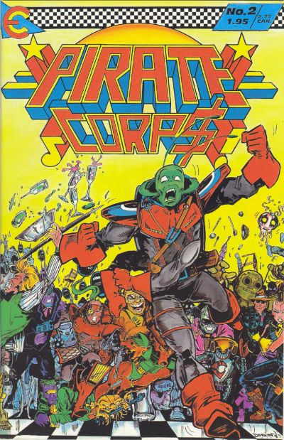 Cover for Pirate Corp$! (Eternity, 1987 series) #2
