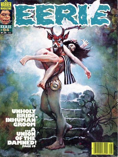 Cover for Eerie (Warren, 1966 series) #94