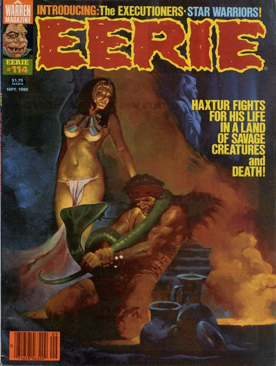Cover for Eerie (Warren, 1966 series) #114