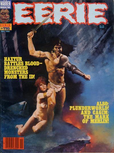 Cover for Eerie (Warren, 1966 series) #116